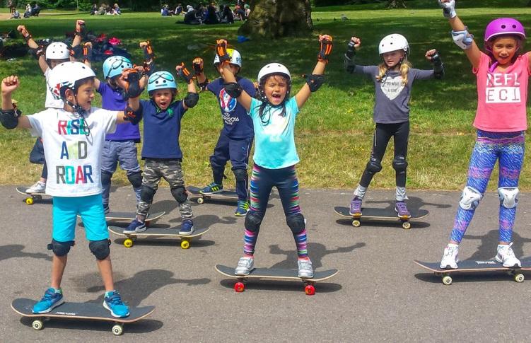 Kensington – Skateboarding only, 5 days (afternoons) 12-16 April 2021