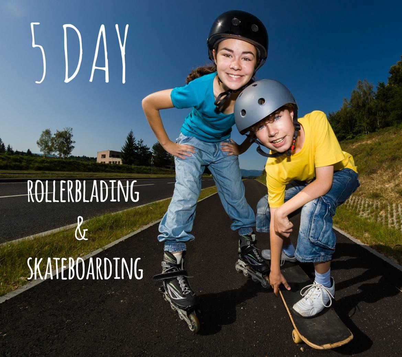 Kensington – Rollerblading + Skateboarding 5 days (Full Day) 5 – 9 July 2021