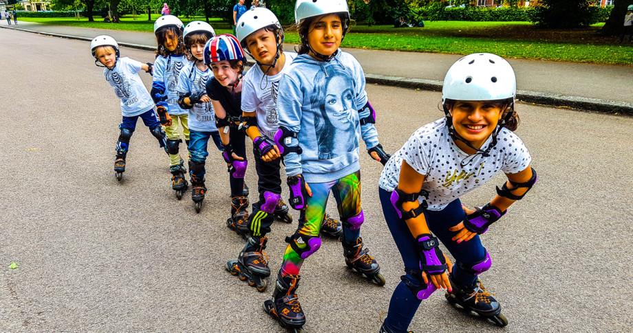 Kensington – Rollerblading only, 5 days (10-1pm) 5 – 9 July 2021